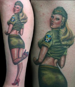 amanda-west-army-pin-up-girl-tattoo