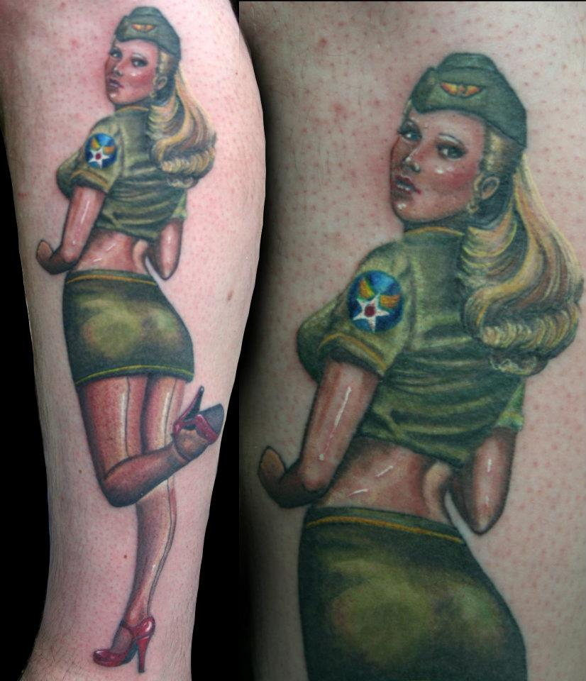 Suggest Nude army pin up agree, this